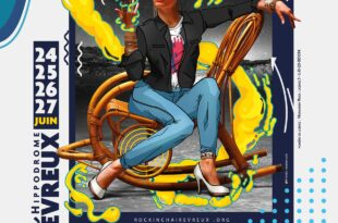 Rock in Chair Evreux affiche festival de musique