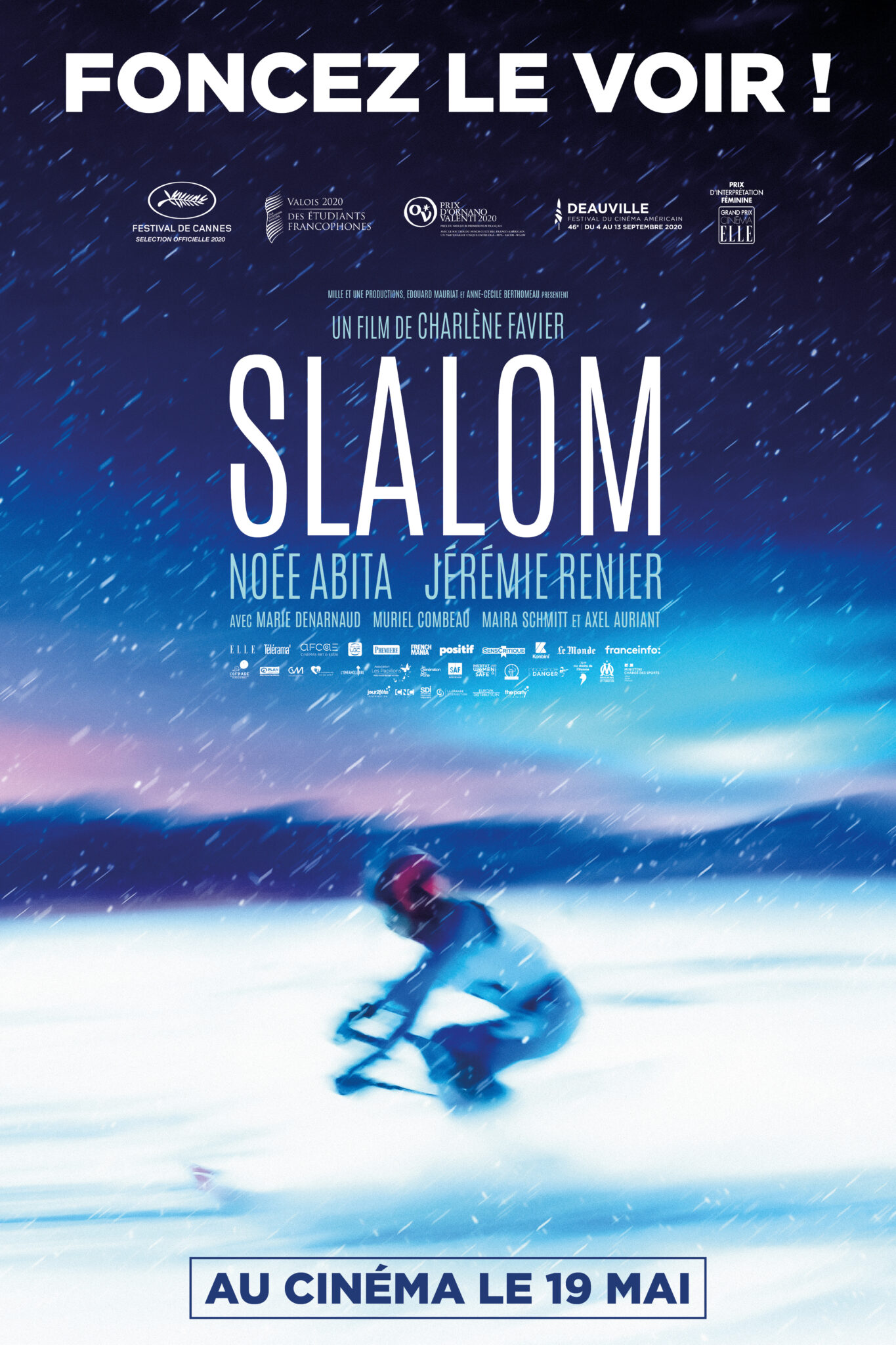 Slalom affiche film