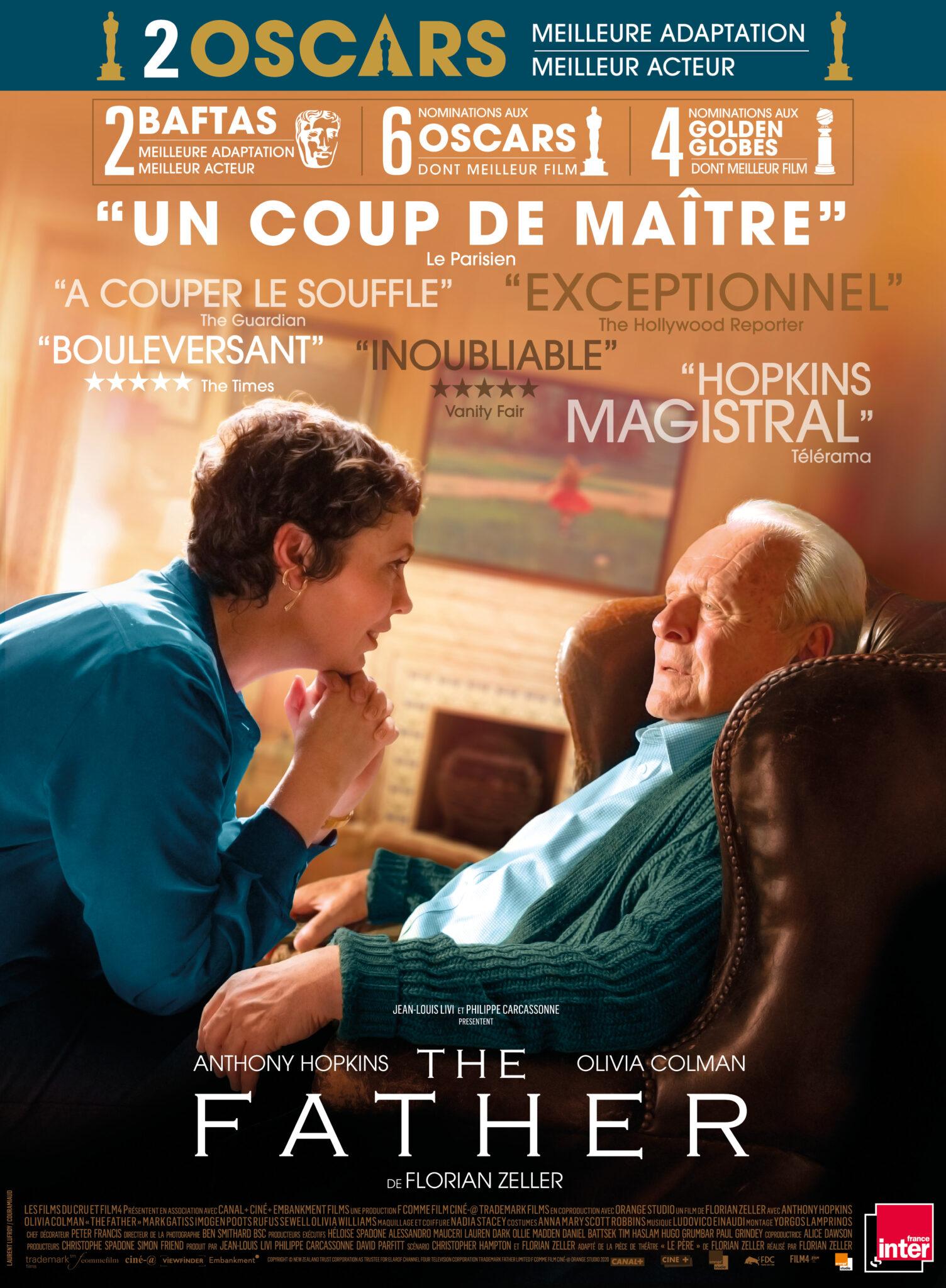 The Father affiche critique avis film