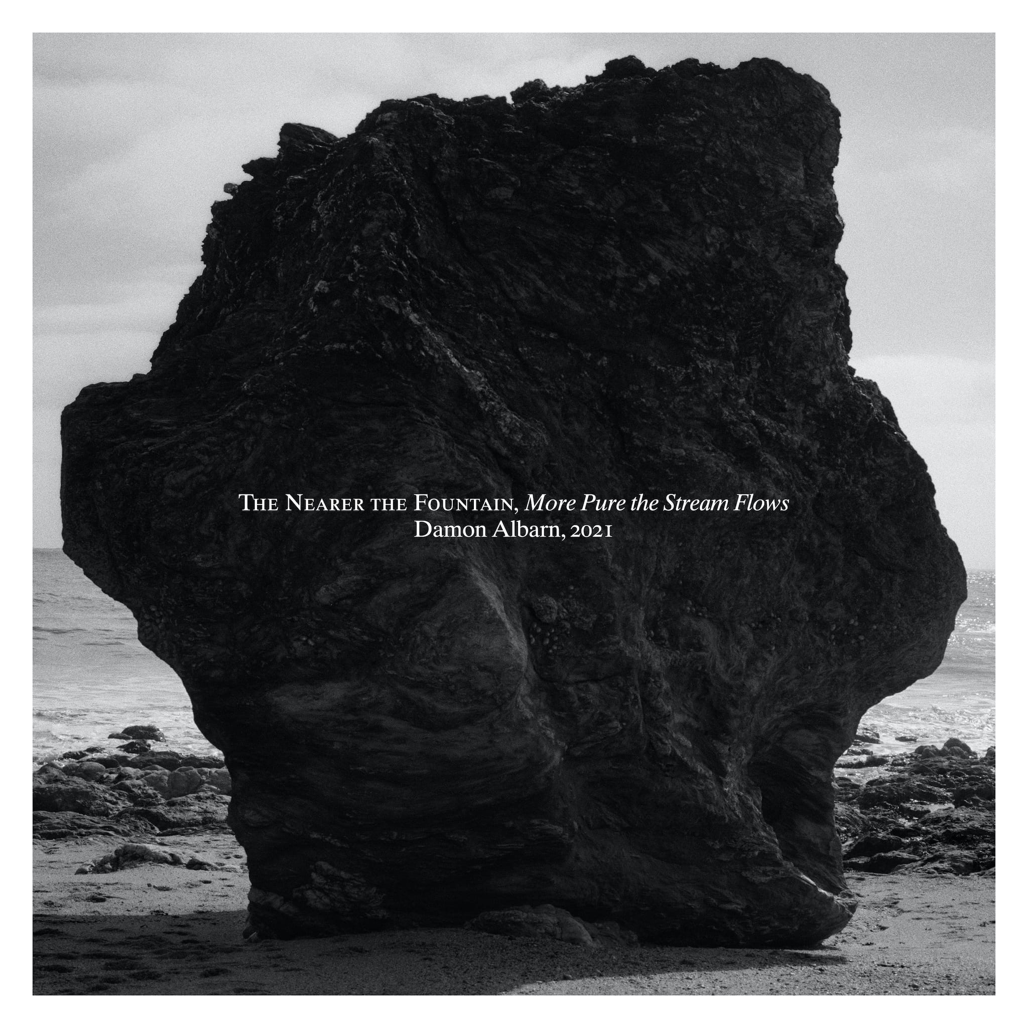 Damon Albarn album The Nearer The Fountain, More Pure The Stream Flows image musique