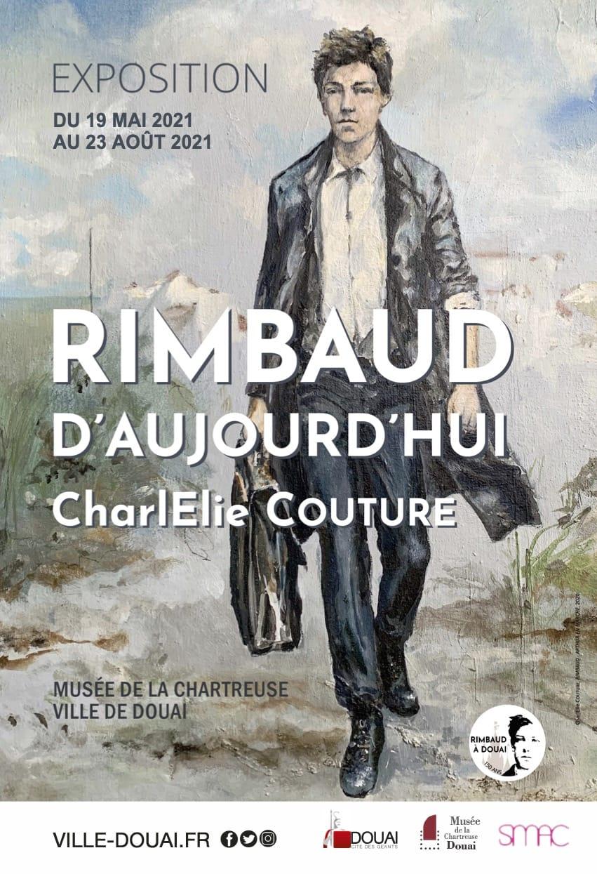Exposition Rimbaud d'aujourd'hui - CharlElie Couture affiche Musée de la Chartreuse