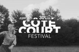 Festival Côté court 2021 affiche cinéma