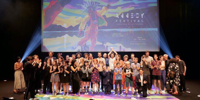 Festival d'Annecy 2021 photo cérmonie de remise des prix officiels official prizes presentation ceremony animation