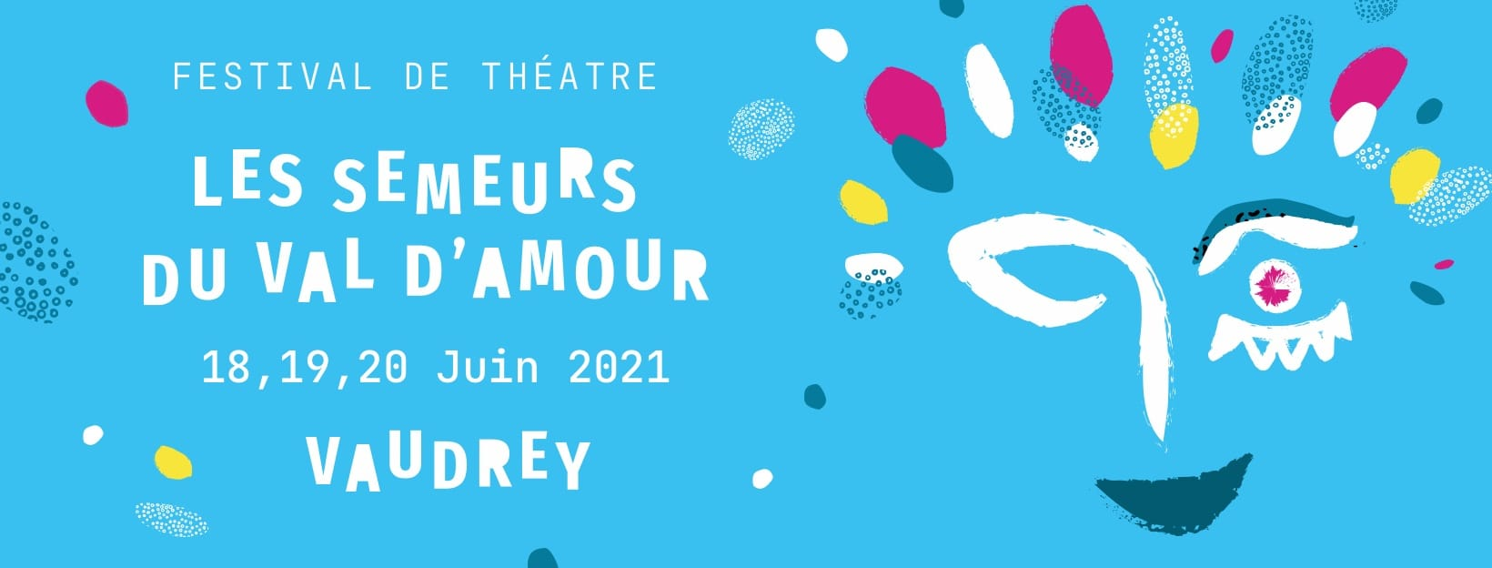 Festival Les Semeurs du Val d'Amour 2021 affiche théâtre
