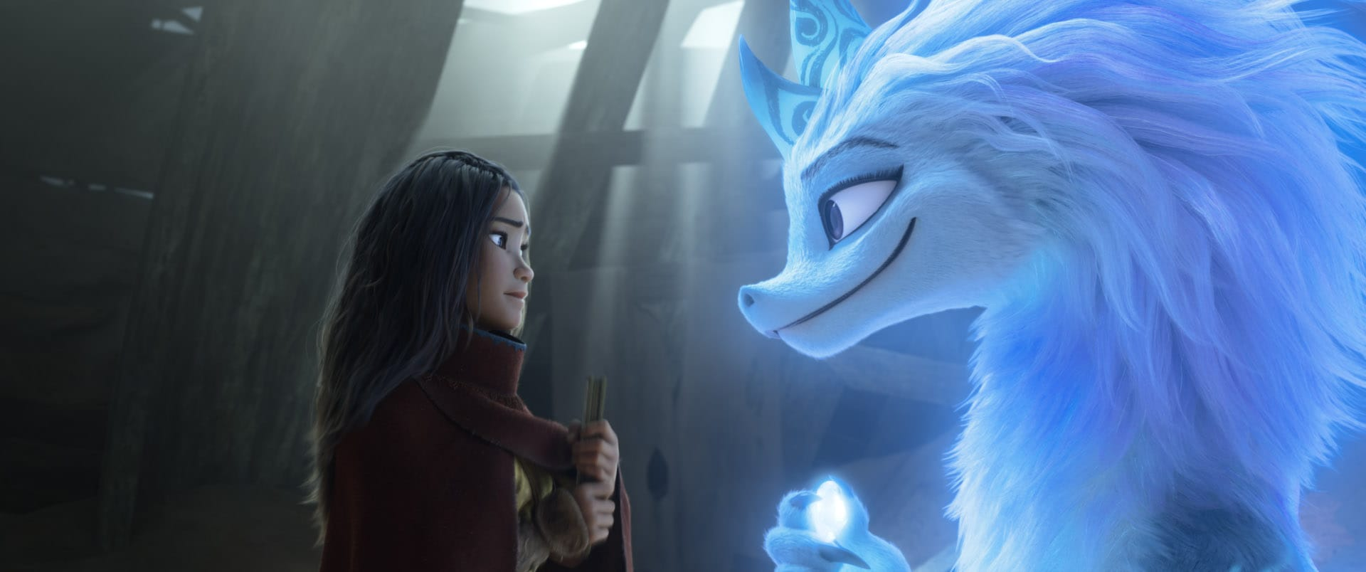 Raya et le dernier dragon (2021) de Don Hall et Carlos López Estrada photo film cinéma