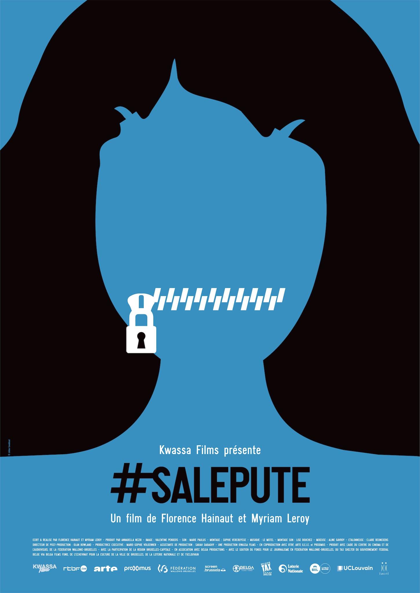 #SalePute de Florence Hainaut et Myriam Leroy affiche documentaire