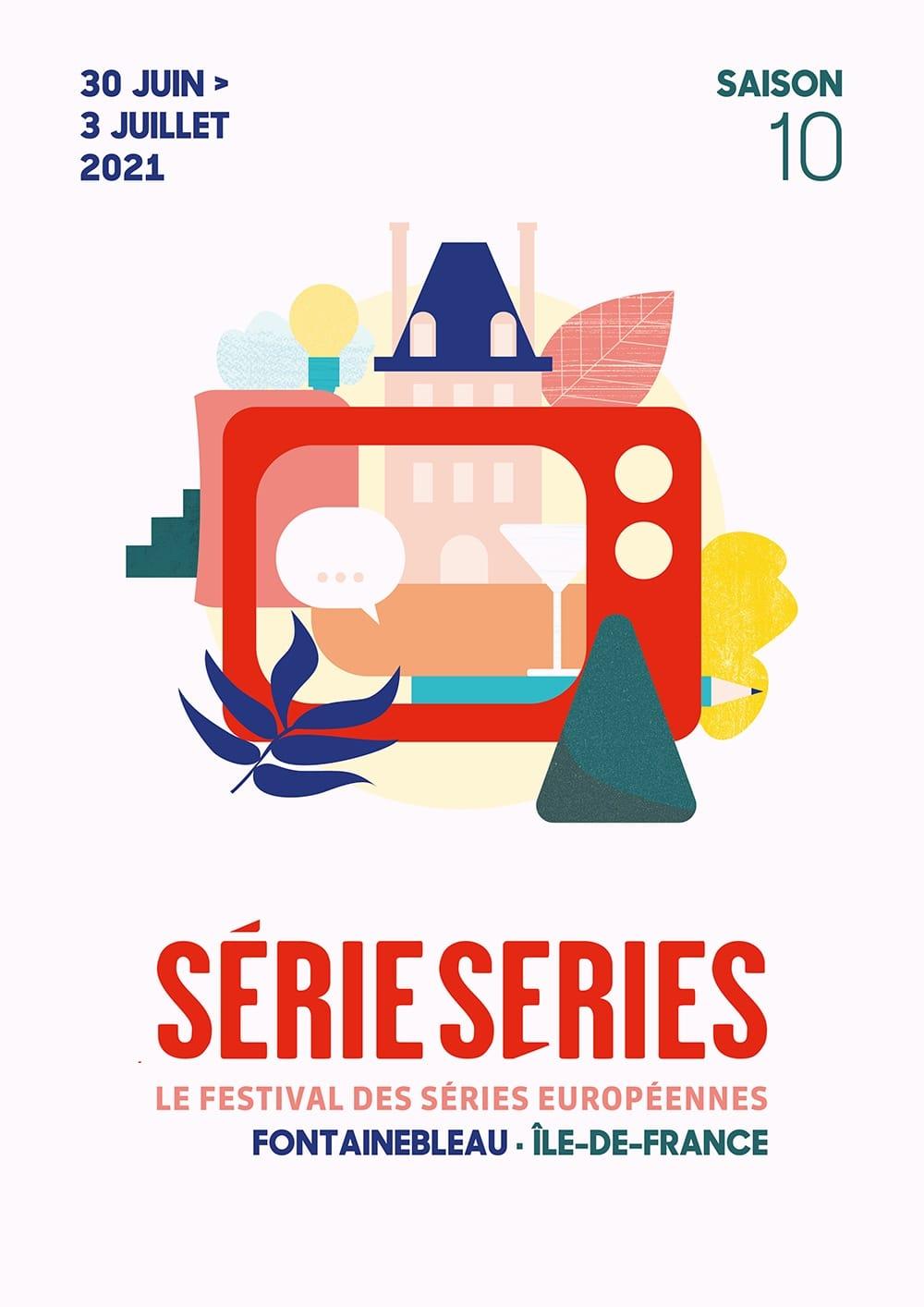 Série Series 2021 affiche festival saison 10