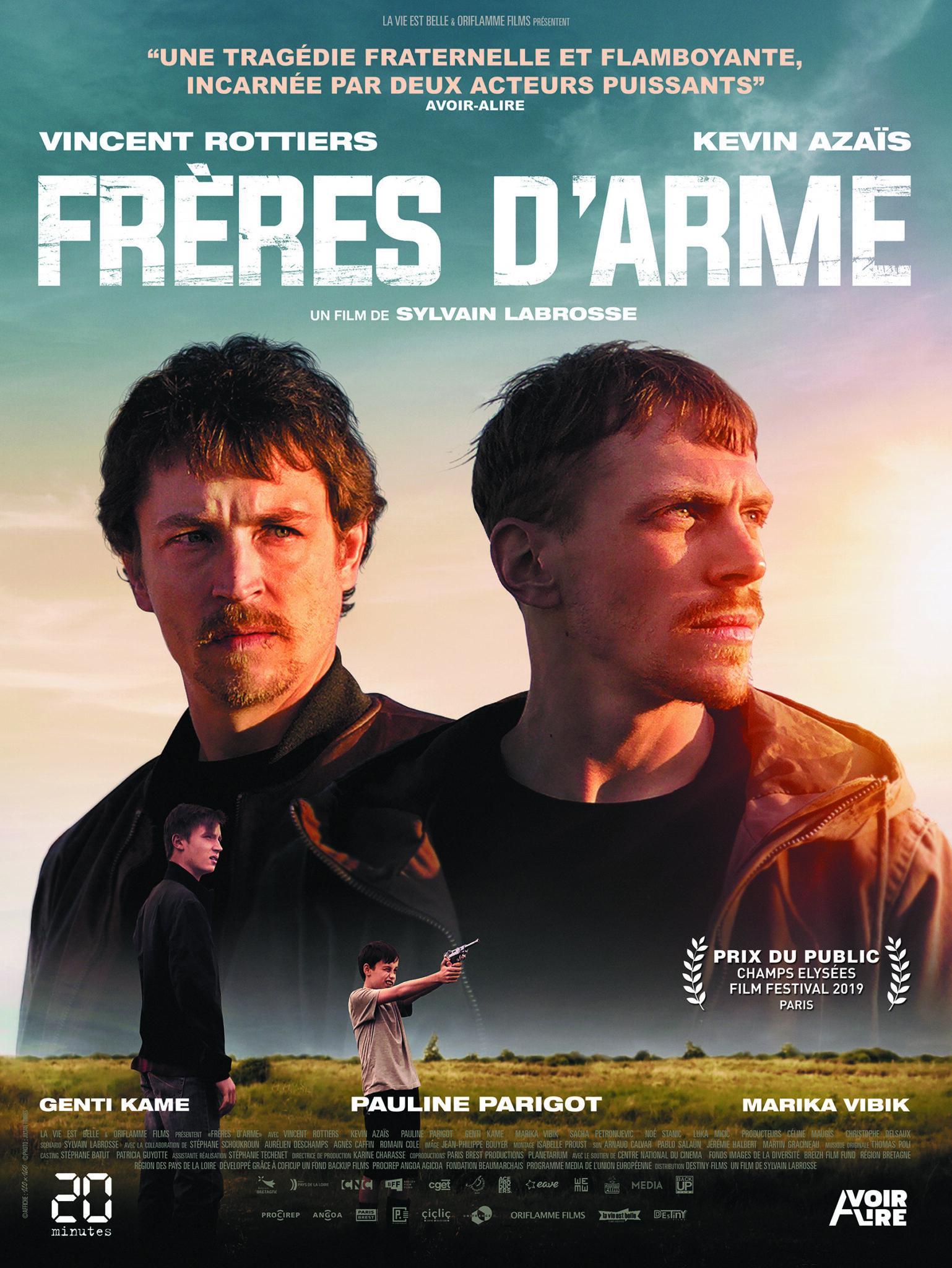 Affiche Frères d'arme critique film avis