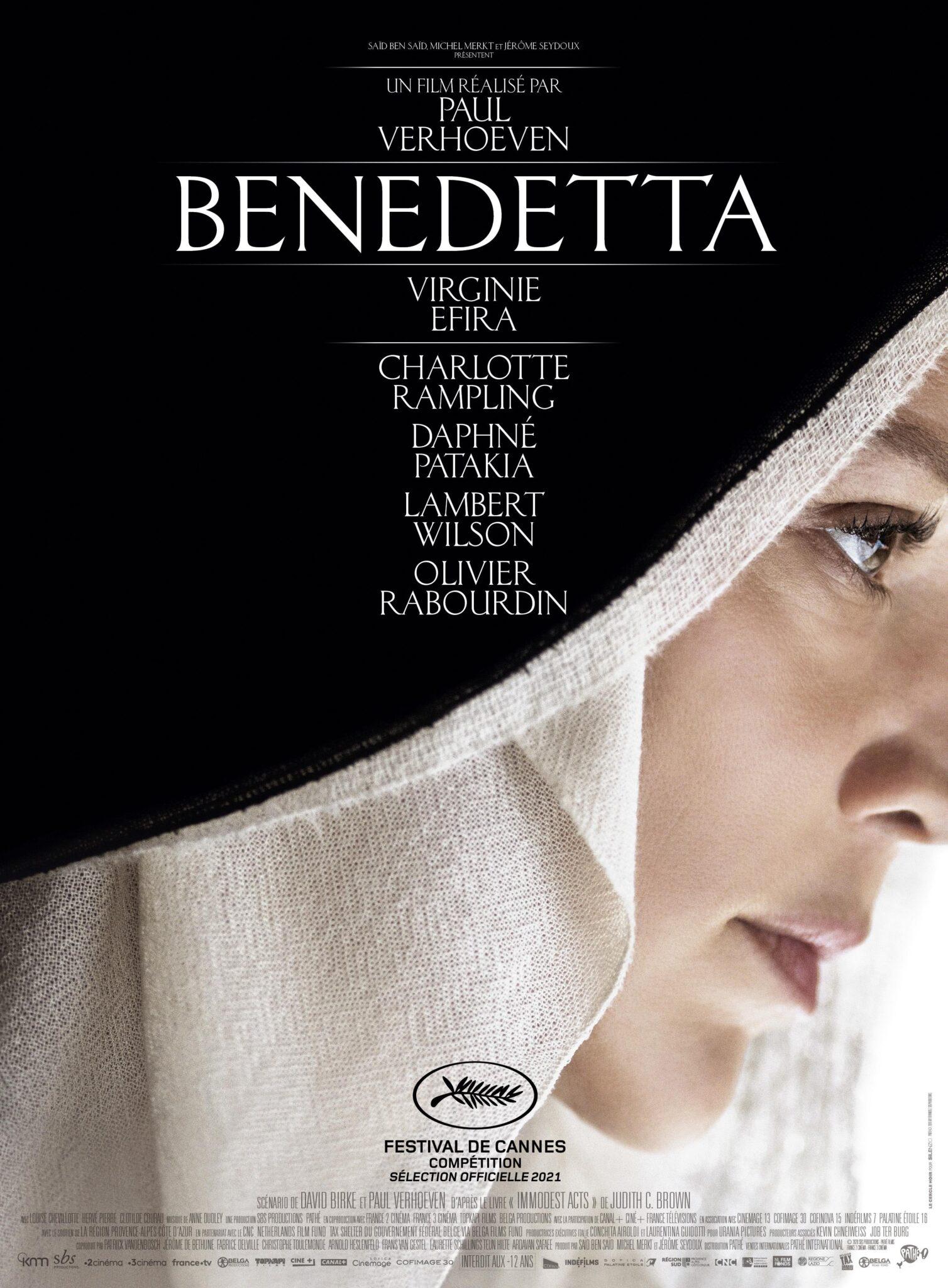 Benedetta affiche film critque avis