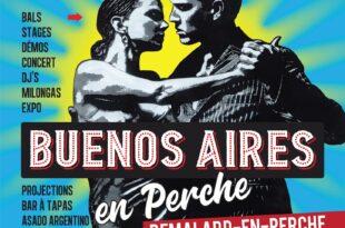 Buenos Aires en Perche 2021 affiche Festival de Tango Argentin