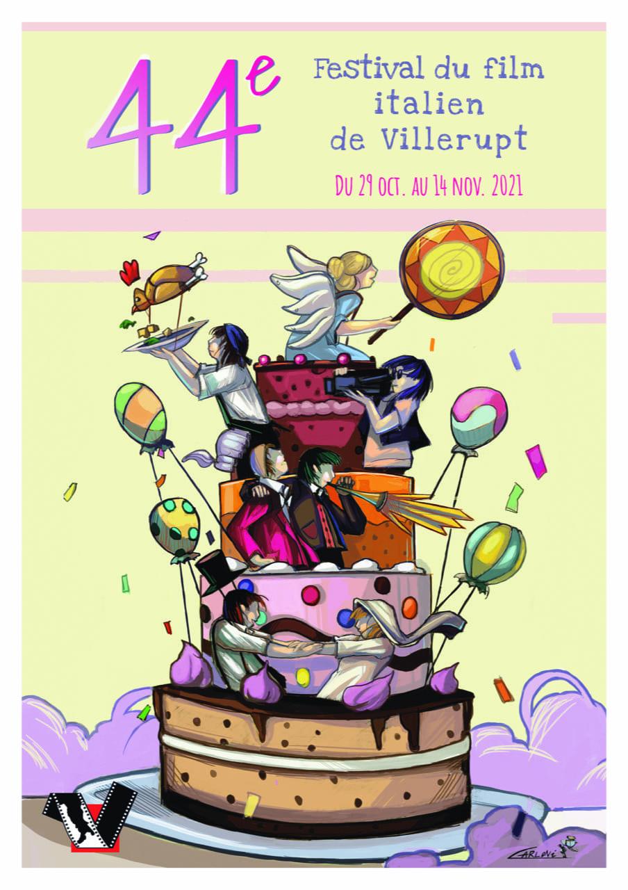 Festival du Film Italien de Villerupt 2021 affiche cinéma