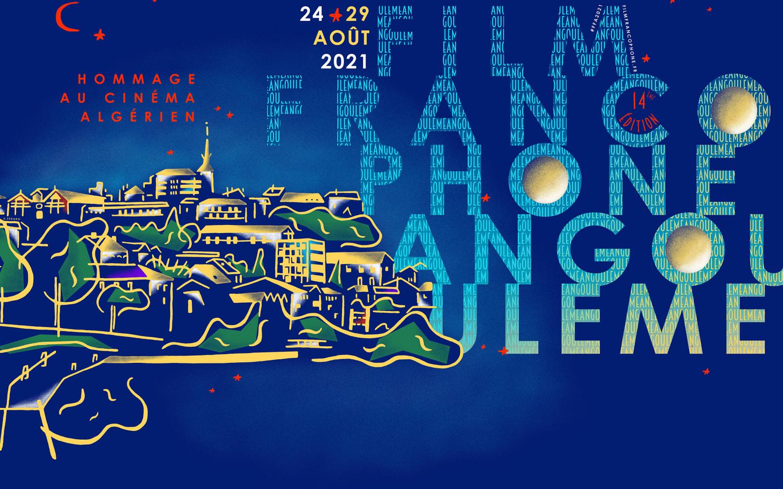 Festival film francophone Angoulême 2021 affiche