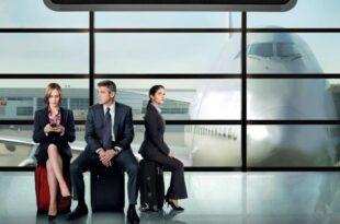 In The Air de Jason Reitman affiche film cinéma