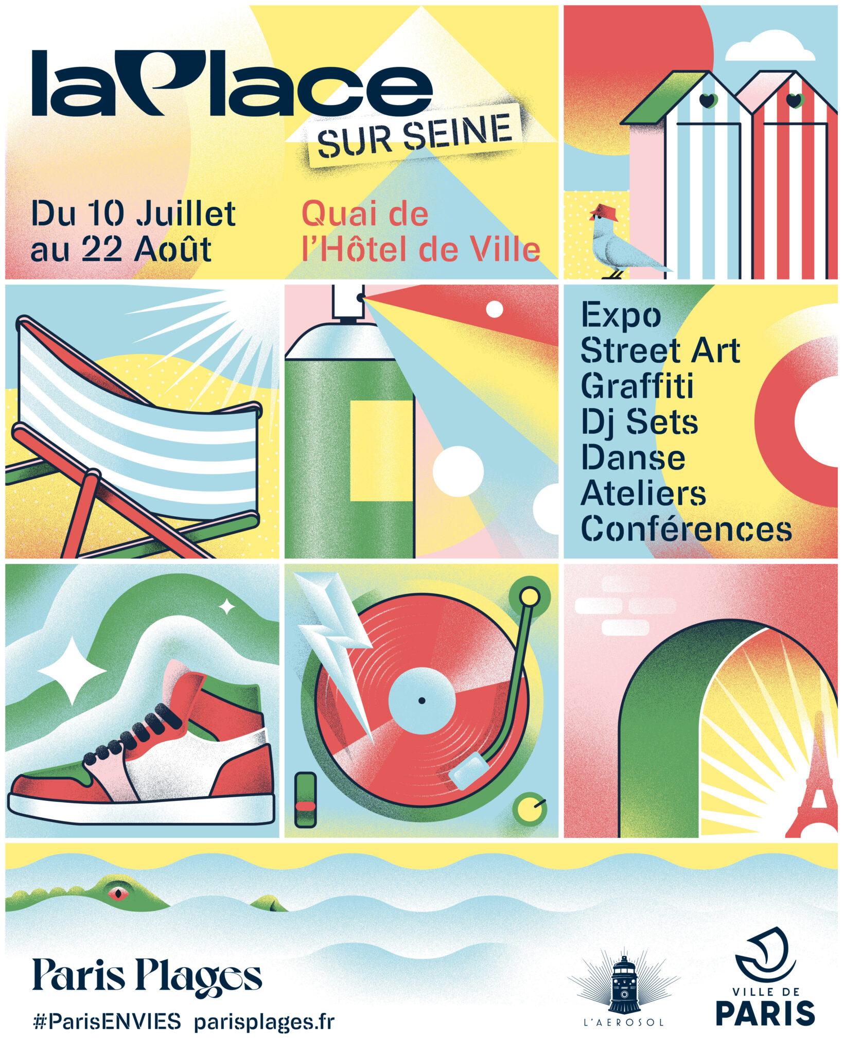 Paris Plage 2021 La Place