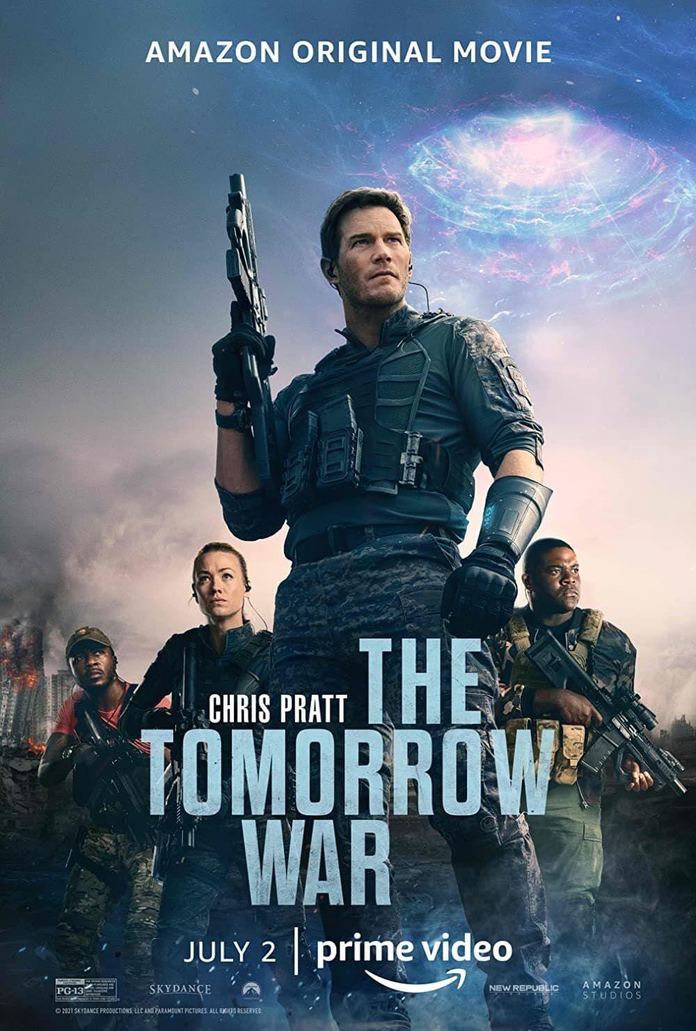 """Critique / """"The Tomorrow War"""" : un saut dans le futur pour retour dans le passé artistique 3 image"""