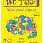 WeToo Festival 2021 affiche festival féministe & familial