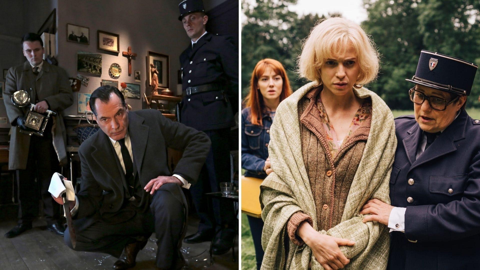 Les Petits Meurtres d'Agatha Christie épisodes Mademoiselle Mac Ginty est mort et Ding Dingue Dong images série télé