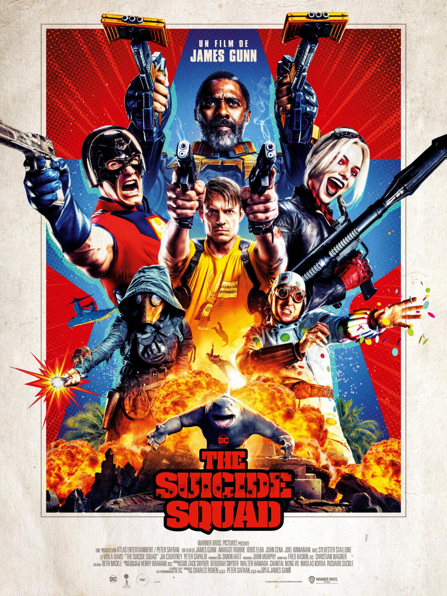THE SUICIDE SQUAD AFFICHE film 2021