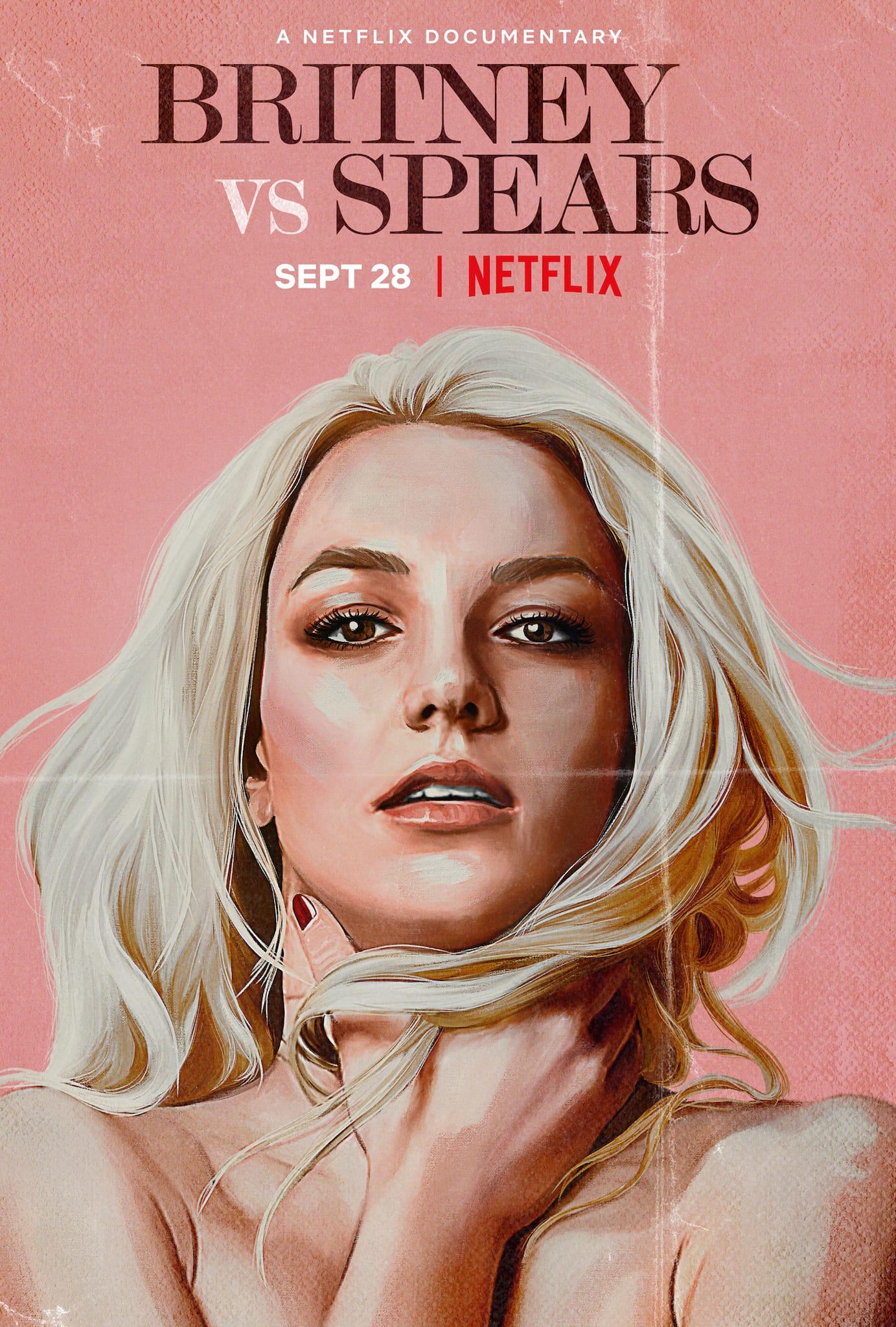 Britney Vs Spears d'Erin Lee Carr affiche documentaire Netflix