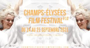 Champs Elysées Film Festival 2021 affiche