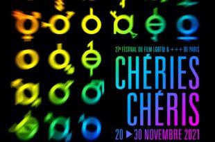 Chéries-Chéris 27e édition affiche festival cinéma films LGBTQI&+++