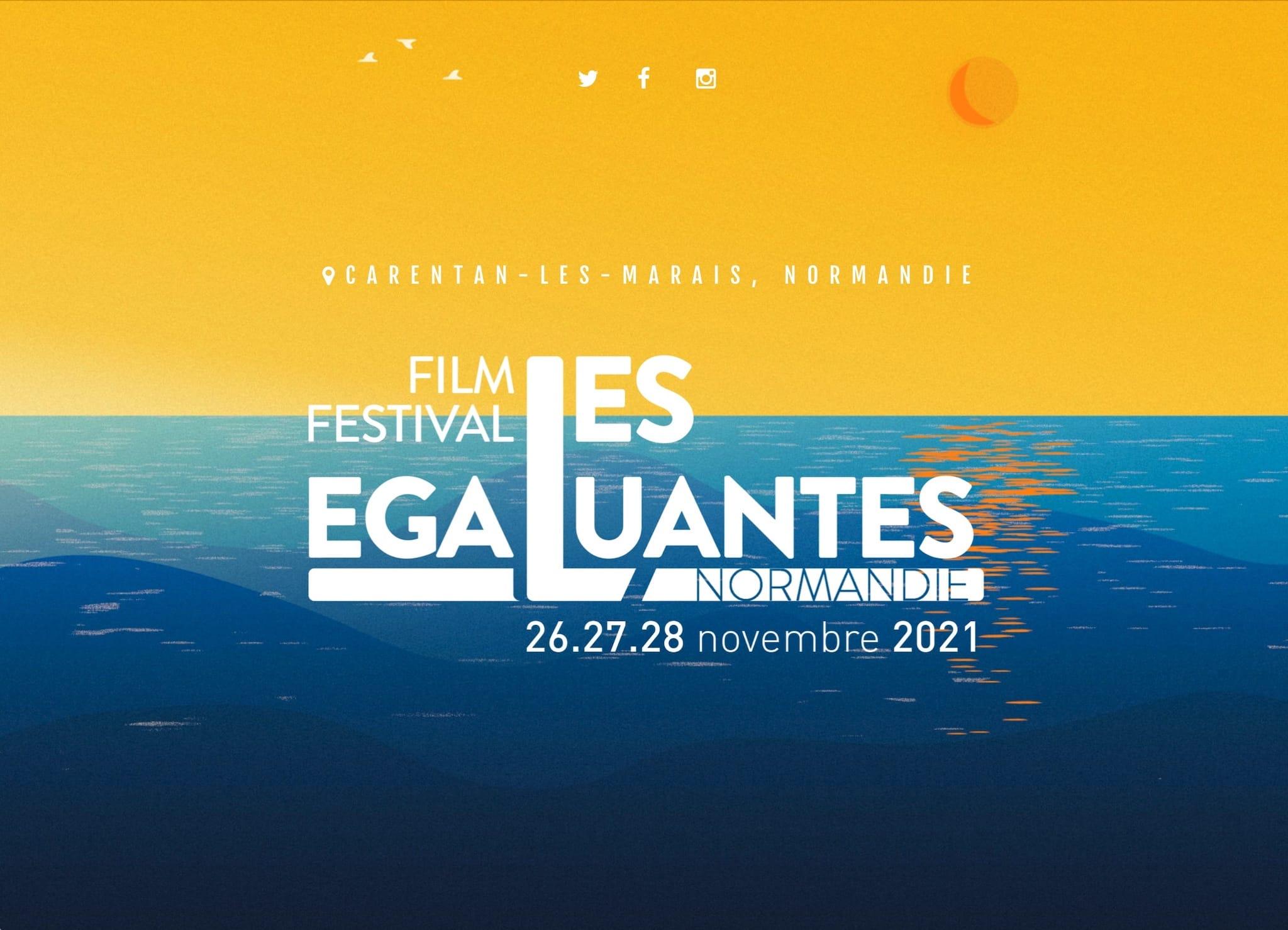 Festival Les Egaluantes 2021 affiche cinéma