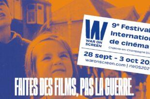 Festival War On Screen 2021 bannière cinéma
