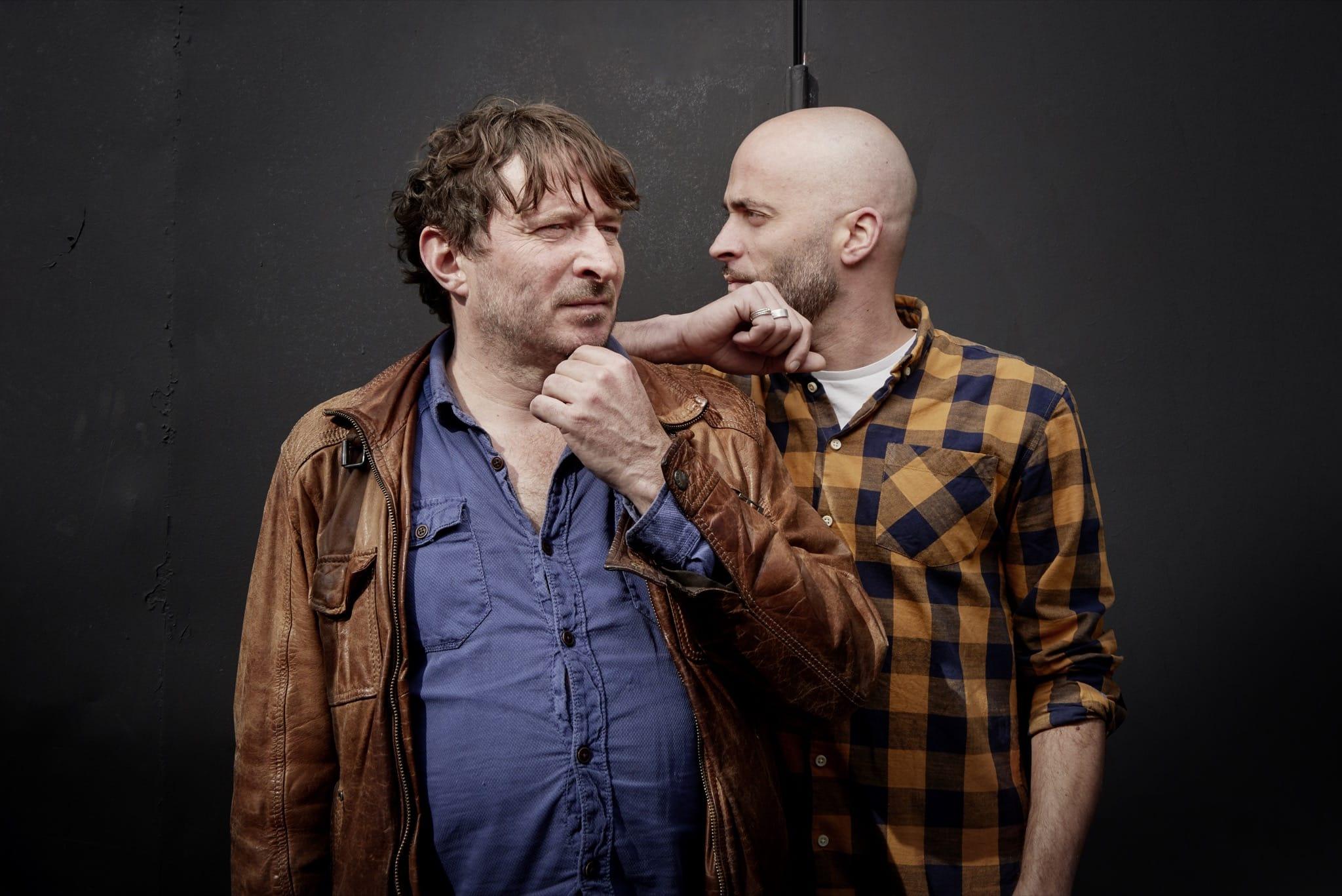 Fiers et tremblants - Marc Nammour et Loïc Lantoine photo musique