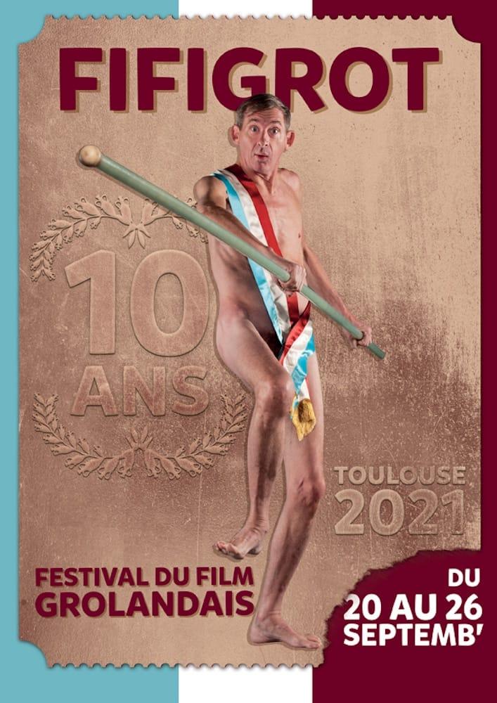 FIFIGROT (Festival du film grolandais de Toulouse) affiche 2021