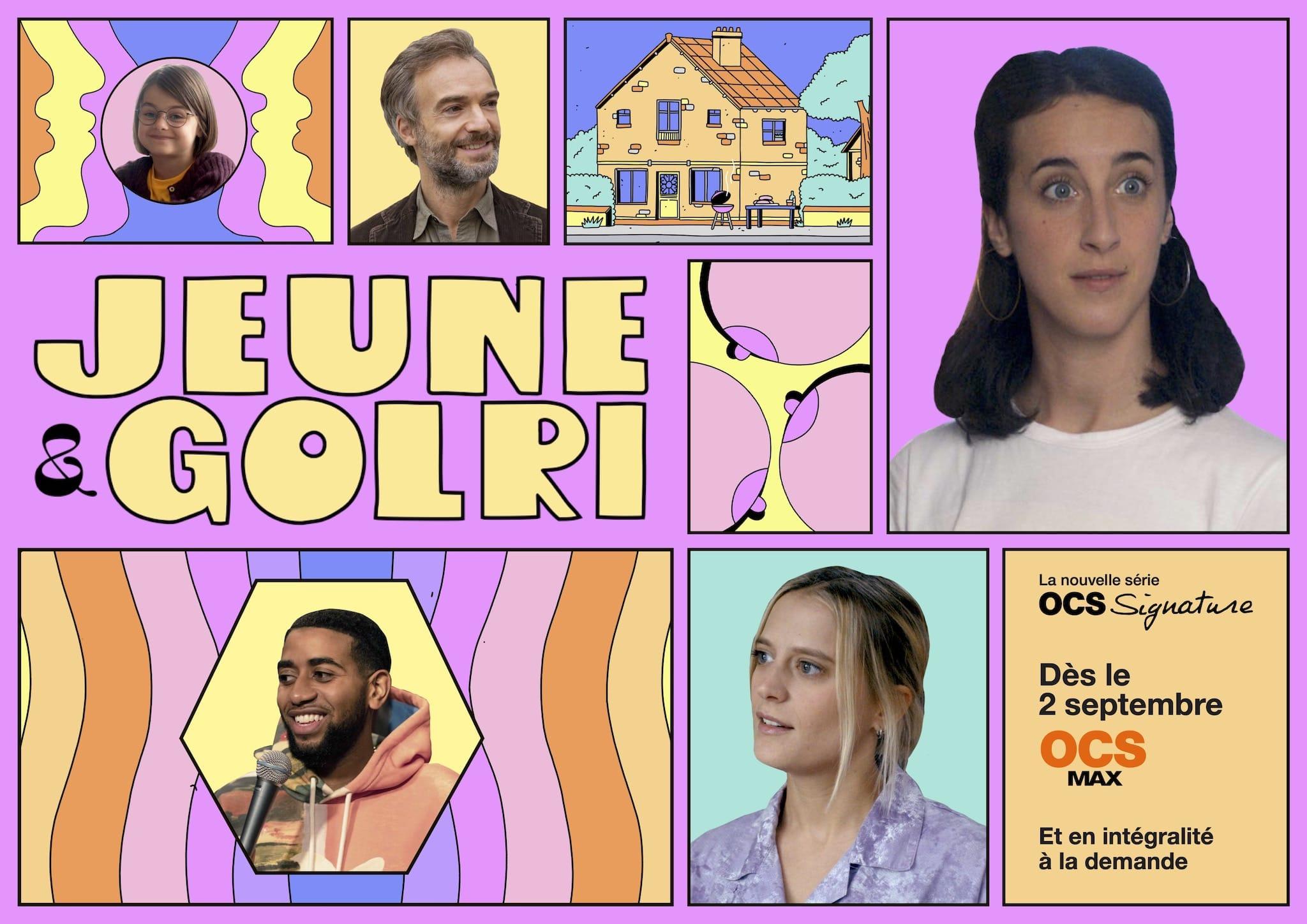 Jeune et Golri saison 1 affiche série télé