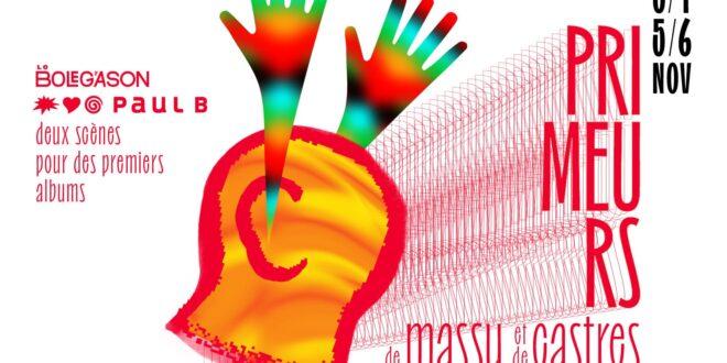 Les Primeurs de Massy et de Castres 2021 affiche musique
