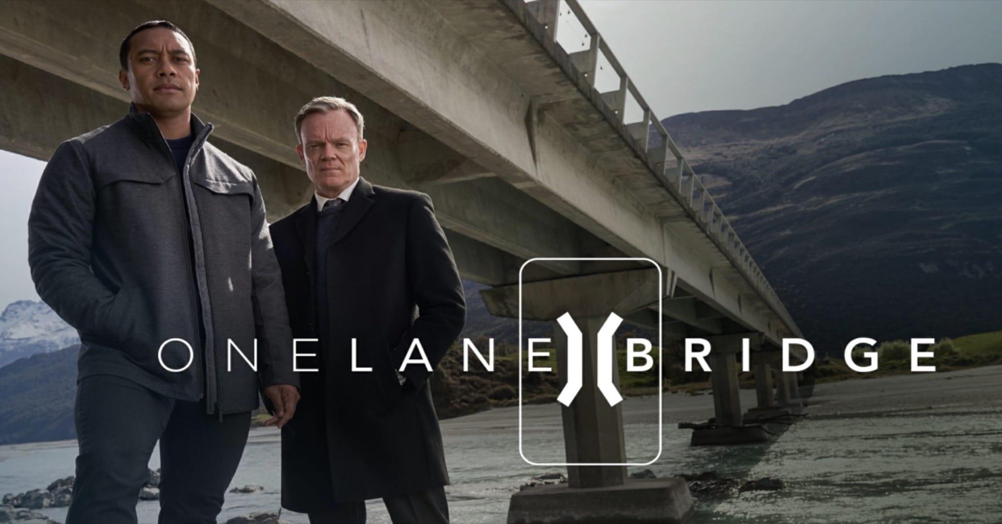 One Lane Bridge saison 1 affiche série télé