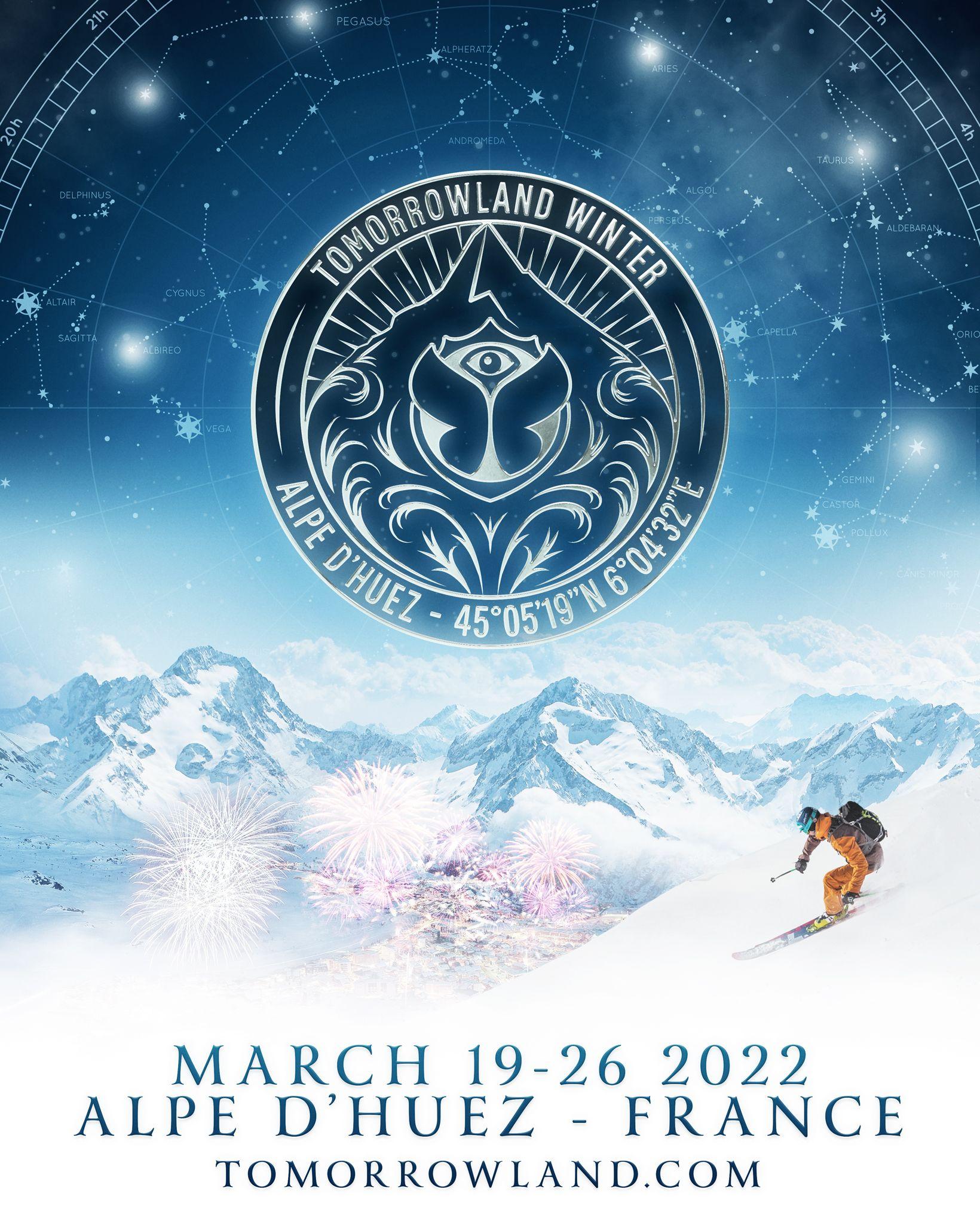 Tomorrowland Winter 2022 affiche musique