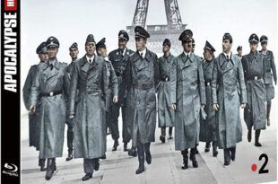 Apocalypse Hitler attaque à l'Ouest (1940) pochette blu-ray documentaire