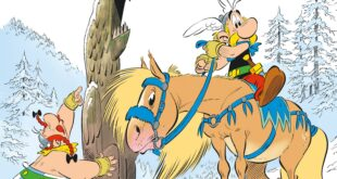 Asterix and the Griffin cover british comic book