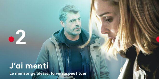 J'ai menti de Bénédicte Charles et Olivier Pouponneau affiche série télé