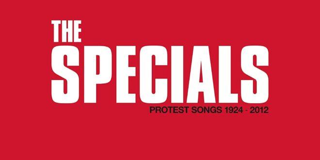 The Specials - Protest Songs 1924-2012 pochette album musique